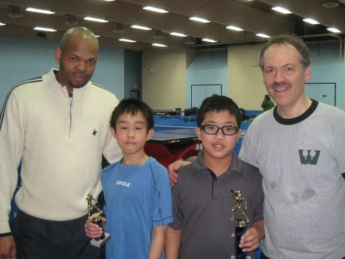 14 & Under — Joseph Ryan C. Baptista, Christopher Ming Xue